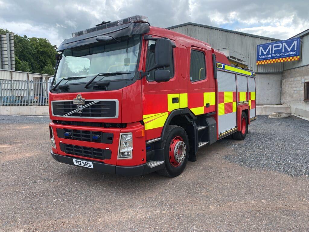 Volvo FM340 4X2 Fire Engine